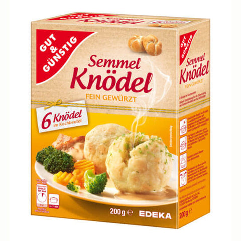 Gut And Gunstig Bread Dumplings (Pack of 6) 200g