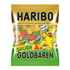 Haribo Sour Gold Bears 200g
