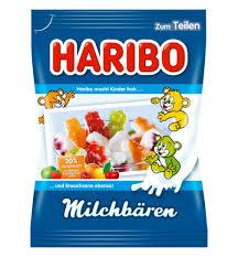 Haribo Milk Bear Gummies 175g