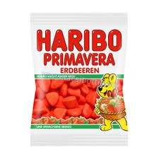 Haribo Primavera Strawberry Flavor 200g