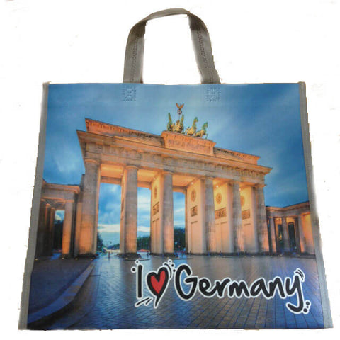 I Love Germany Shopping Bag with Brandenburg Gate 90g