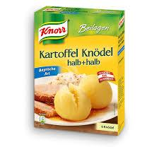 Knorr Potato Dumplings Half and Half Bavarian Style (Pack of 6) 150g