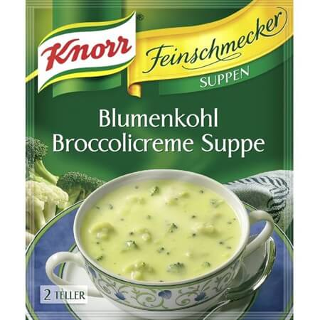 Knorr Cauliflower and Broccoli Soup 48g