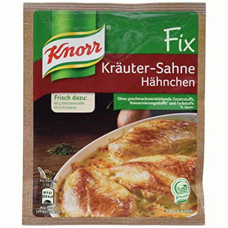 Knorr Creamy Cheese Sauce with Herbs 28g