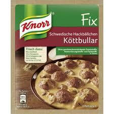 Knorr Sweedish Meat Balls Sauce Mix 49g