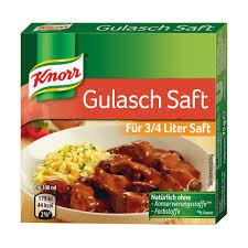Knorr Goulasch Stock Cubes 75g