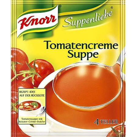 Knorr Cream Of Tomato Soup 62g