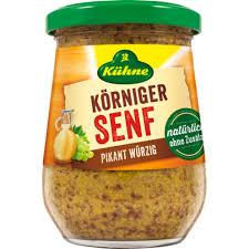 Kuehne Wholegrain Mustard Spicy 250ml