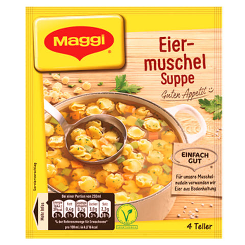 Maggi Egg Shell Soup (4 Portions) 51g