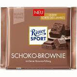 Ritter Sport Milk Chocolate with Brownie Filling 100g