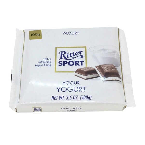 Ritter Sport Milk Chocolate with Yogurt filling 100g
