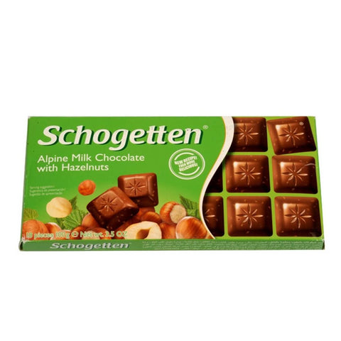 Schogetten Milk Chocolate With Hazelnuts 100g