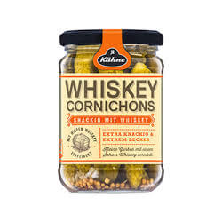 Kuehne Whiskey Cornichons 370ml
