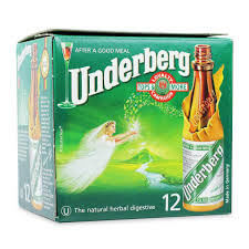 Underberg Natural Herb Bitters Bottles (12 Pack) 240ml