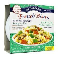 St. Dalfour Gourmet On The Go - French Bistro Pasta and Vegetables 175g