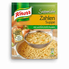 Knorr Noodle Numbers Soup 84g