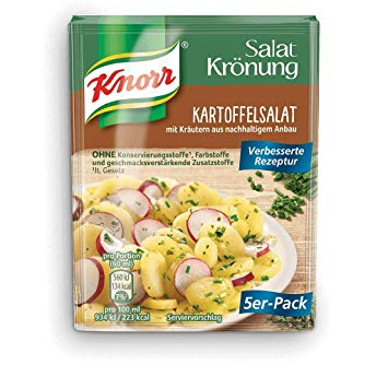 Knorr Potato Salad Seasoning Sachets (Pack of 5) 40g