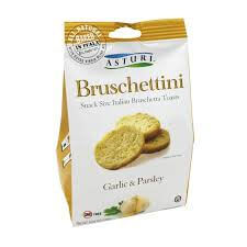 Asturi Bruschettini With Garlic and Parsley 120g