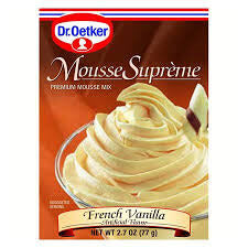 Dr Oetker French Vanilla Truffle Mousse Mix 77g