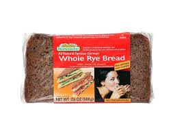 Mestemacher Whole Rye Bread with Whole Rye Kernels 500g