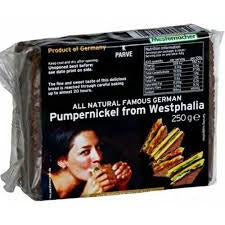 Mestemacher Bread - Westphalian Pumpernickel with Whole Rye Kernels 250g