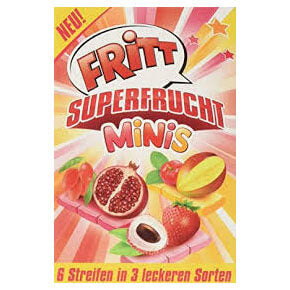 Fritt Fruit Superfrucht Minis Carton 50g