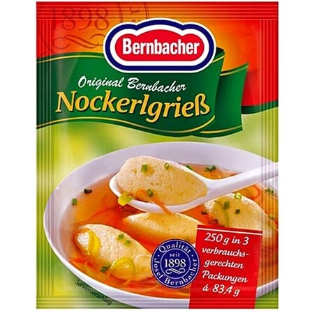 Bernbacher Dumpling Mix (Pack of 3 Sachets) 250g