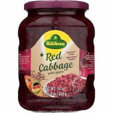 Kuehne Red Cabbage with Apple 680g