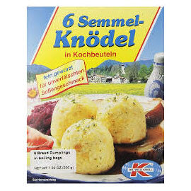 Dr Willi Knoll Dumplings -  Bread in Boiling Bags 200g