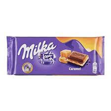 Kraft Milka Caramel Chocolate Bar 100g