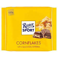 Ritter Sport Milk Chocolate with Cornflakes 100g