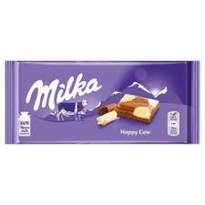 Kraft Milka Happy Cow Chocolate Bar 100g