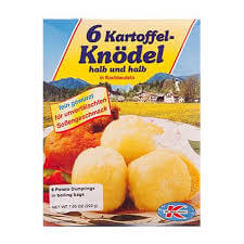 Dr Willi Knoll Dumplings -  Potato in Boiling Bags 200g