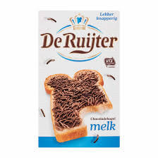 De Ruijter Milk Chocolate Sprinkles (HEAT SENSITIVE) 400g