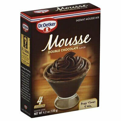 Dr Oetker Double Chocolate Mousse Mix 120g