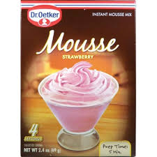 Dr Oetker Strawberry Mousse Mix 69g