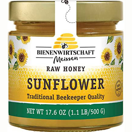 Bienenwirtschaft Sunflower Honey Jar 500g