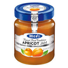 Hero Apricot Fruit Spread 340g