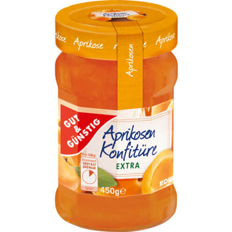 Gut and Gunstig Konfituere Aprikose Extra 450g