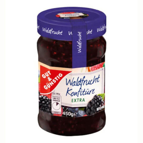 Gut and Gunstig Konfituere Extra Waldfrucht 450g