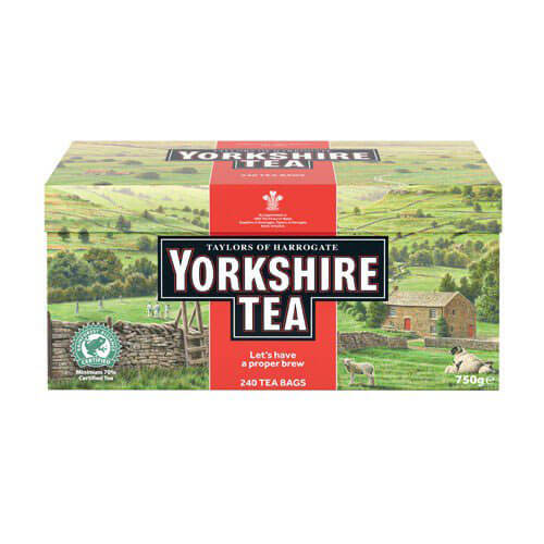 Yorkshire Tea - Red (Pack of 240 Tea Bags) 750g
