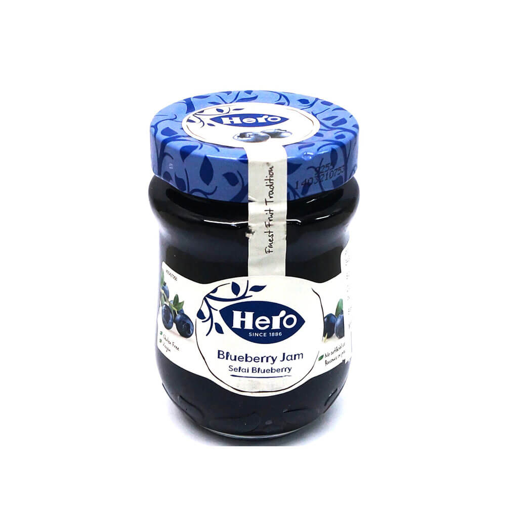 Hero Blueberry Fruit Spread 340g