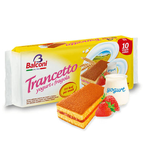 Balconi Trancetto - Strawberry and Yogurt Filling (Pack of 10) 280g