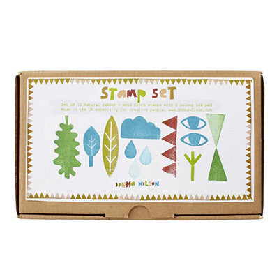 Donna Wilson Rubber Stamp Set