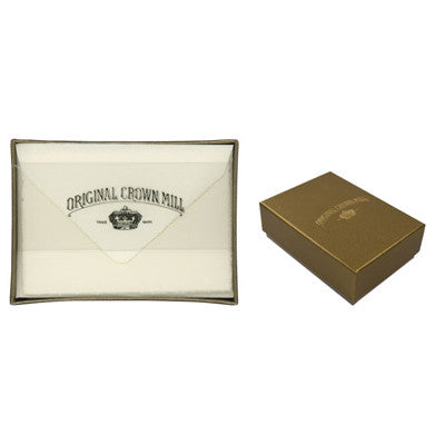 ORIGINAL CROWN MILL CREAM DECKLED EDGE CARD ENVELOPE SET