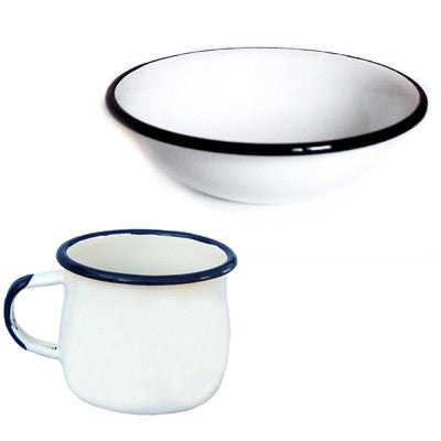 MUNDER KIDS ENAMEL CUP & BOWL SET