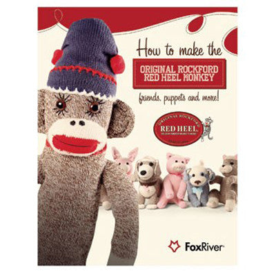 SOCK MONKEY AND FRIENDS PATTERN BOOK