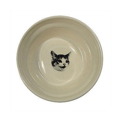 "GEORGE CERAMIC ""HAPPY CAT"" BOWL"
