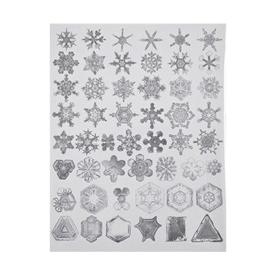 Snow Crystals Card Set (10-pack)