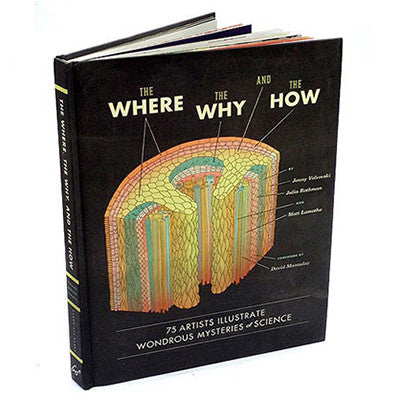 THE WHERE, THE WHY, AND THE HOW: 75 ARTISTS ILLUSTRATE THE WONDROUS MYSTERIES OF SCIENCE
